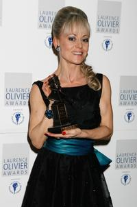 Tracie Bennett at the Laurence Olivier Awards.