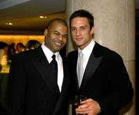 Earnest Williams and David Fumero at the after party of 30th Annual Daytime Emmy Awards.