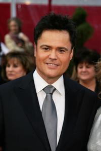 Donny Osmond at the 80th Annual Academy Awards.