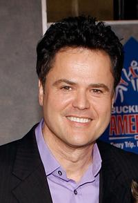 Donny Osmond at the world premiere of