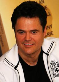 Donny Osmond at the Osmonds Celebrate 50th Anniversary Concert.