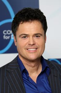 Donny Osmond at the Concert For Diana.