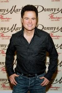Donny Osmond at the Donny and Marie variety show.