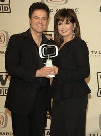 Donny Osmond and Marie Osmond at the 2006 TV Land Awards.