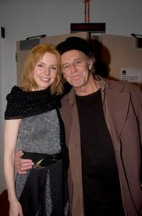 Jacqueline Mckenzie and Barry Otto at the opening night of