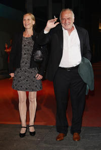 Kati Outinen and Andre Wilms at the red carpet of