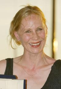 Kati Outinen at the 55th Cannes Film Festival.