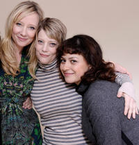 Anne Hache, Kellie Overbey and Alia Shawkat at the premiere of