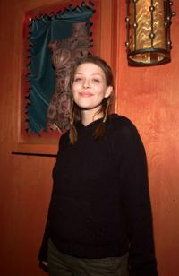 Amber Benson at the party to launch