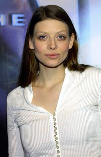 Amber Benson at the WB Network's 2003 Winter party.