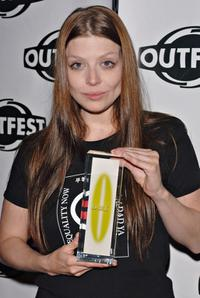 Amber Benson at the Outfest 2005 Awards Night.