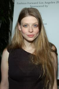 Amber Benson at the Fashion Forward Fundraiser benefiting Friendly House and CLARE Foundation, Inc.