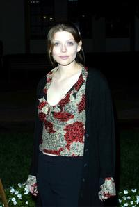 Amber Benson at the screening of