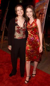 Michelle Trachtenberg and Amber Benson at the screening of