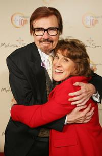 Gary Owens and Ruth Buzzi at the Mohegan Sun 10th Anniversary celebration.
