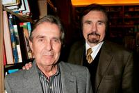Pat Harrington Jr. and Gary Owens at the book signing of Ben Alba's