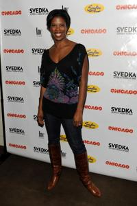 Deidre Goodwin at the Ashlee Simpson-Wentz Broadway debut in