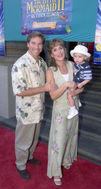 Ray and Jodi Benson with McKinley at the premiere of