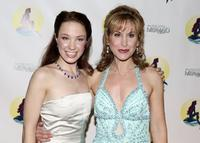 Sierra Boggess and Jodi Benson at the after party to celebrate the opening night of Broadway's