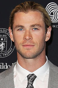 Chris Hemsworth at the 50th Anniversary Wool Awards in Sydney.