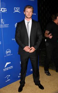 Chris Hemsworth at the Australians In Film's 2010 Breakthrough Awards.
