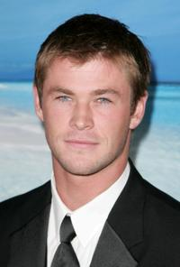 Chris Hemsworth at the G'DAY USA Australia.com Black Tie Gala.