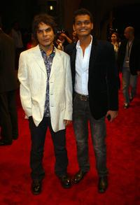 Ankur Vikal and Madhur Mittal at the premiere of