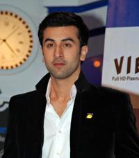 Ranbir Kapoor at the launch of the Z1 plasma display panel television in Mumbai.