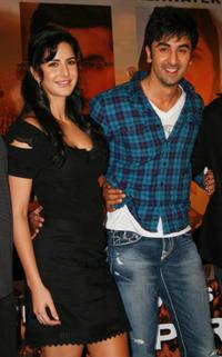 Katrina Kaif and Ranbir Kapoor at the press conference of
