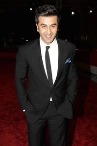 Ranbir Kapoor at the premiere of