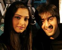 Sonam Kapoor and Ranbir Kapoor at the promotion of
