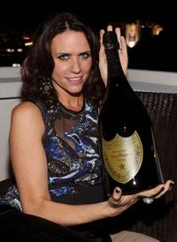Amy Landecker at the Golden Globes party.