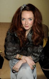 Olivia Grant at the after party of BAFTA Soho House Grey Goose.