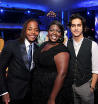 Leon Thomas III, Shanoah Washington and Avan Jogia at the Nickelodeon's 2011 TeenNick HALO Awards in California.