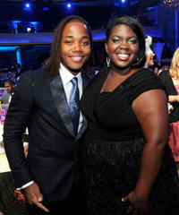 Leon Thomas III and Shanoah Washington at the Nickelodeon's 2011 TeenNick HALO Awards in California.