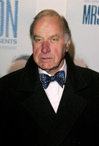 Geoffrey Palmer at the UK premiere of