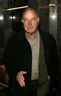 Geoffrey Palmer at the world premiere of