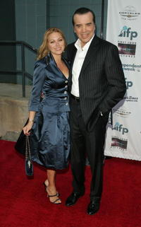 Chazz Palminteri and his wife Gianna Palminteri at the premiere of