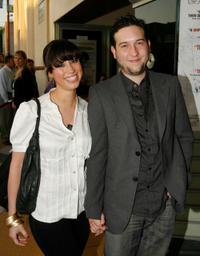 Diane Gaeta and Chris Marquette at the screening of