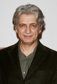 Fabrizio Bentivoglio at the premiere of