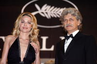 Laura Chiatti and Fabrizio Bentivoglio at the premiere of