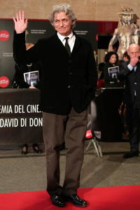Fabrizio Bentivoglio at the David di Donatello Movie Awards.