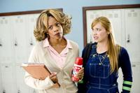 Kim Wayans as Ms. Dontwannabebothered and Shoshana Bush as Megan in