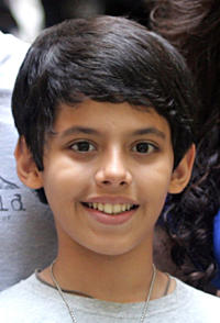 Darsheel Safary at the promotional event of