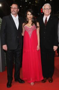 Steve Martin, Aishwarya Rai Bachchan and Jean Reno at the premiere of