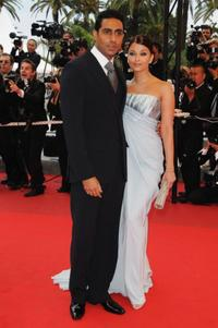 Abhishek Bachchan and Aishwarya Rai Bachchan at the 62nd International Cannes Film Festival.