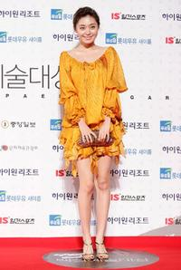 Lee Young-eun at the 45th PaekSang Art Awards.