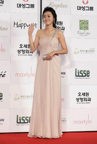 Lee Young-eun at the 46th Daejong Film Awards.