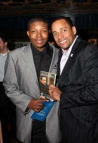 Denzel Whitaker and Hill Harper at the 10th Annual
