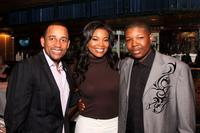 Hill Harper, Gabrielle Union and Denzel Whitaker at the 10th Annual
